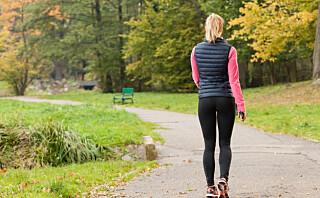 Så mange skritt må du gå om dagen for å få god helseeffekt