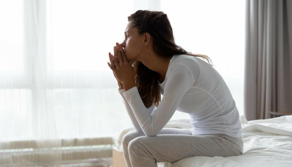 ET SJOKK: Mange som opplever utroskap føler at det er et stort sjokk og en stor sorg.