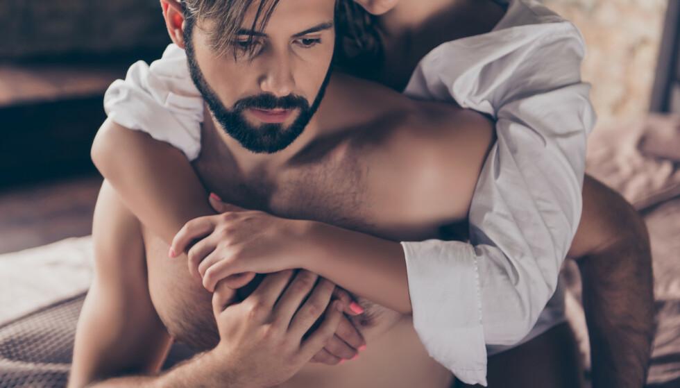 ULIKE TEGN: Det finnes mange tegn på at kjæresten din er utro, som at han blir mer fjern og ufokusert, humørsvingninger, at han verner mer om privatlivet sitt og er mer borte fra hjemmet.