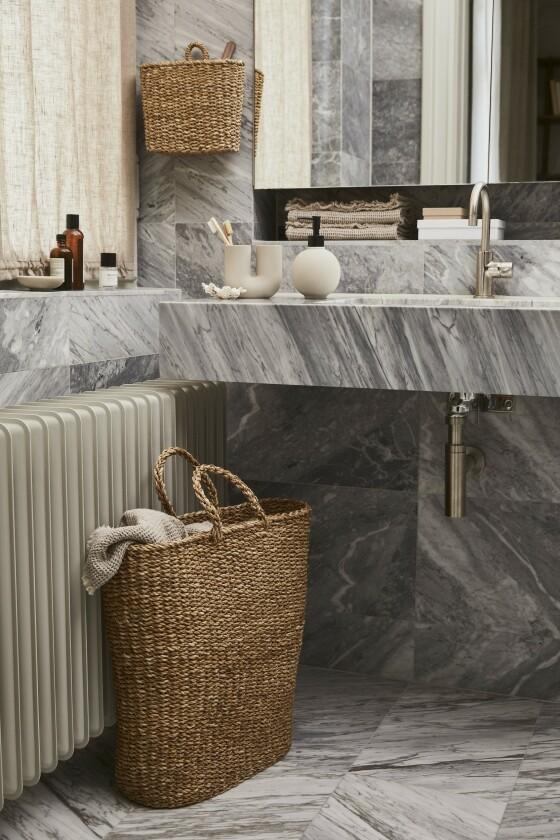 H&M Home satser på naturmaterialer. FOTO: Produsenten