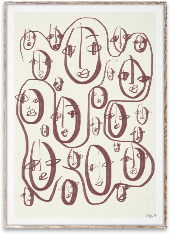 Plakat med mønster (kr 310, Robin Ahlgren). FOTO: Produsenten
