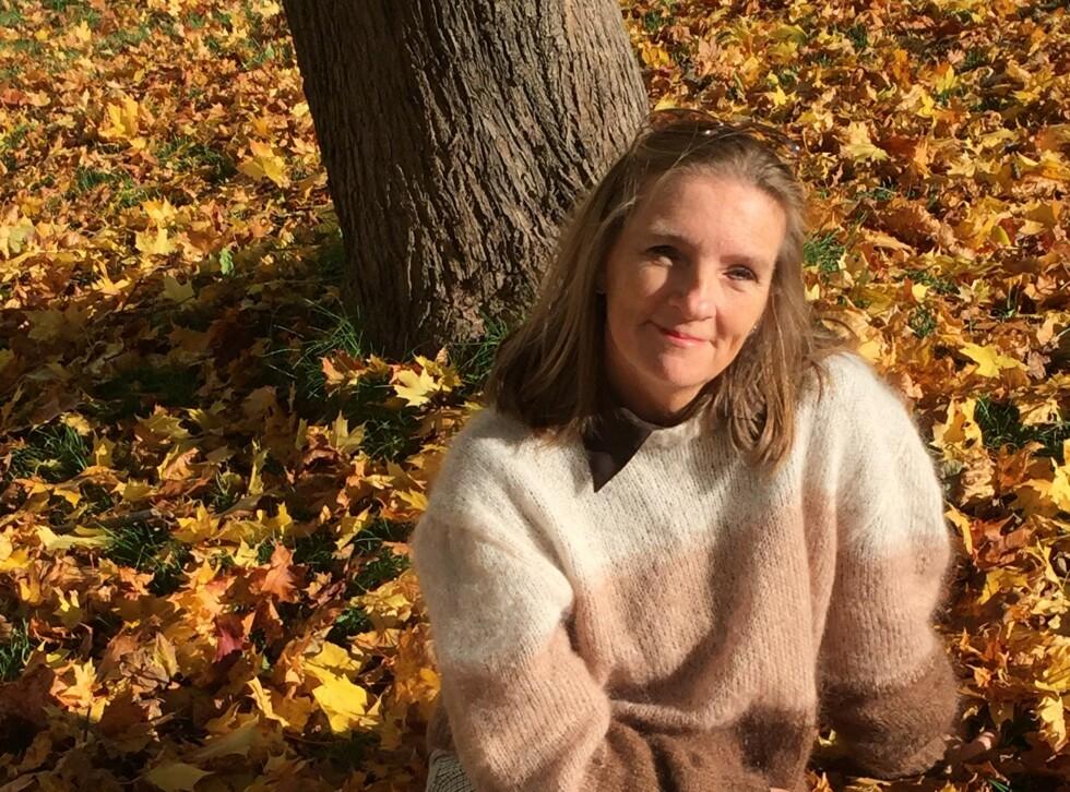 RAMMET: Da Liss hadde kommet seg gjennom kreftbehandling, følte hun seg slett ikke frisk. Så rammet bilulykken. FOTO: Privat