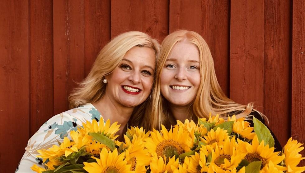 SPONTANABORT: Før Ingrid ble født, mistet mamma Hilde sitt ufødte barn. Det er ikke før nå, de to har snakket ordentlig ut om erfaringen som har påvirket moren i stor grad i ettertid. Hun har siden fått til sammen fire barn. FOTO: Privat