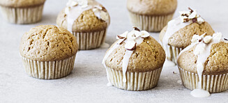 Muffins med pastinakk