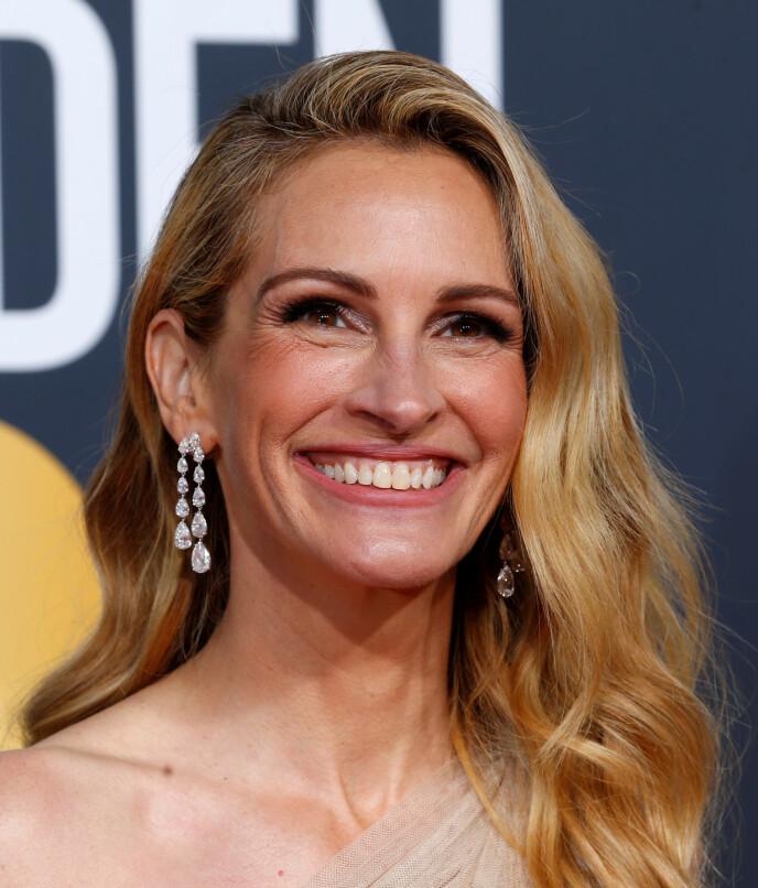 JULIA ROBERTS: Skuespillerens lekre bølger er godt likt blant folk. Foto: NTB