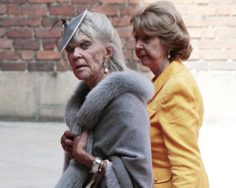 FALSK DØDSBUDSKAP: Prinsesse Birgitta av Sverige satte kaffen i halsen da hun fikk vite at hun skulle ha dødd av en overdose. FOTO: NTB