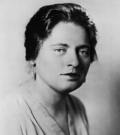 LORENA HICKOK: Journalisten Lorena Hickok var en av førstedamen Eleanor Roosevelts nærmeste. De ble kjent med hverandre i 1932, og var nære venninner frem til Lorenas død i 1968. FOTO: NTB