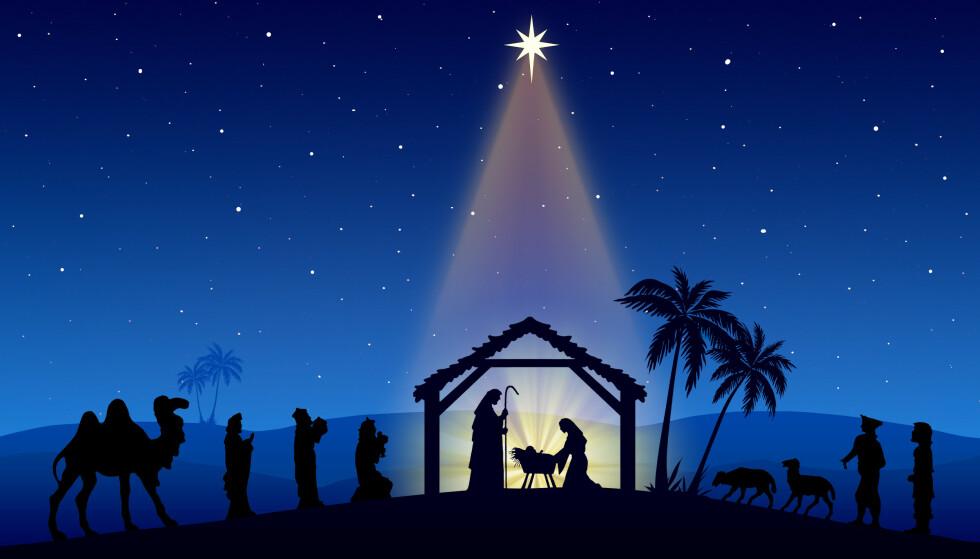 GUDS LYS? Eller planetenes stilling? Om sistnevnte stemmer kan Jesus faktisk ha vært født på en helt annen dato enn på julaften. FOTO: NTB