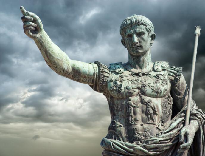 BESTEMT TYPE: Keiser Augustus krevde at alle skulle innskrives i manntall. For enkelte ble veien lang å gå. FOTO: NTB