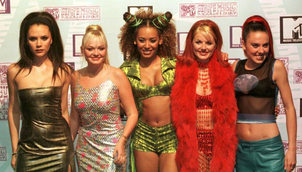 STORHETSTIDEN: Her er gjengen avbildet under European Music Awards i 1997. FOTO: Scanpix