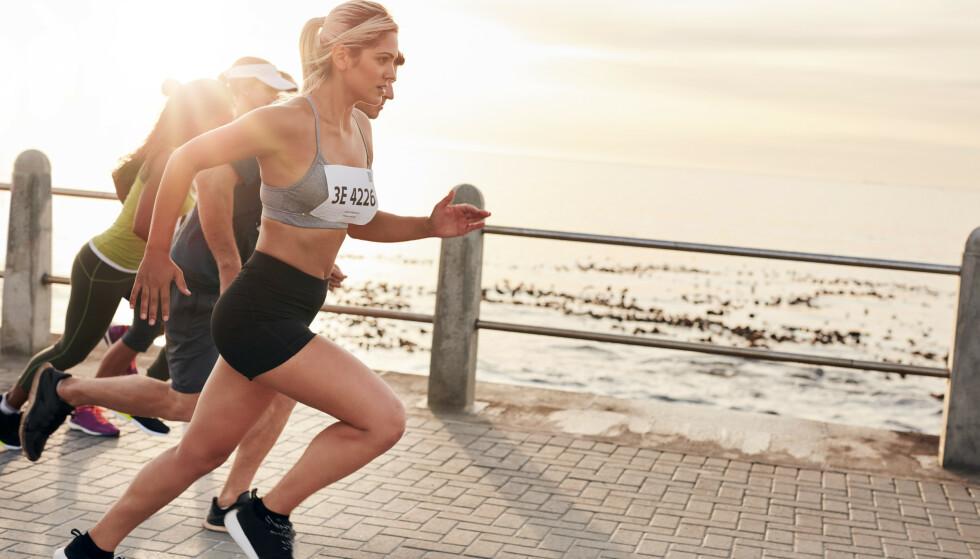 FLERE LØPER MARATON: Maraton er bare ett eksempel på områder hvor «ni-enderne» i denne undersøkelsen var overrepresenterte. FOTO: NTB Scanpix