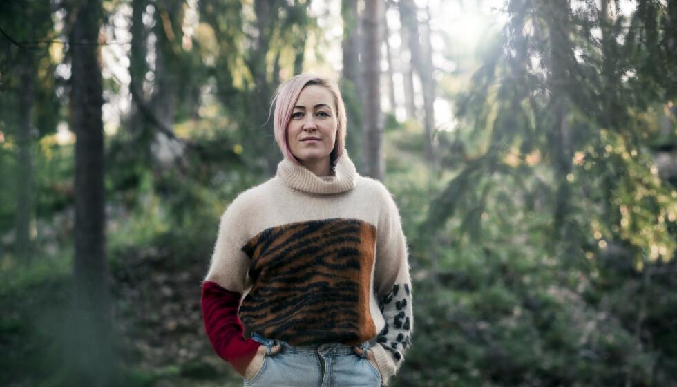 TABU: Stine Næss Hartmann vil snakke om det som andre kvinner vegrer seg for, som for eksempel verkende underliv etter fødsel. FOTO: Astrid Waller