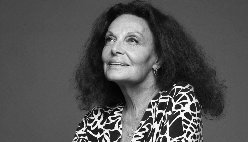 LANSERER SAMARBEID: Diane von Furstenberg skal lage en interiørkolleksjon sammen med H&M. Foto: H&M