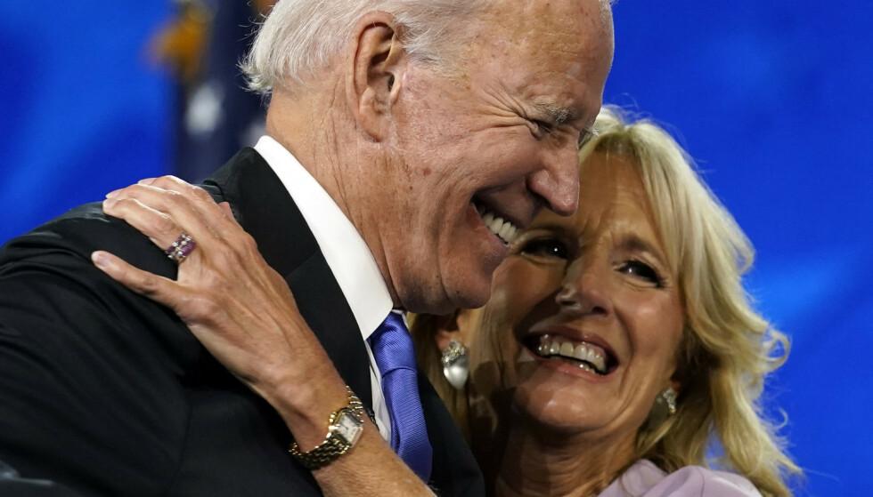 Jill Biden: - Jeg tenkte aldri verden. Han var jo ni år eldre enn meg