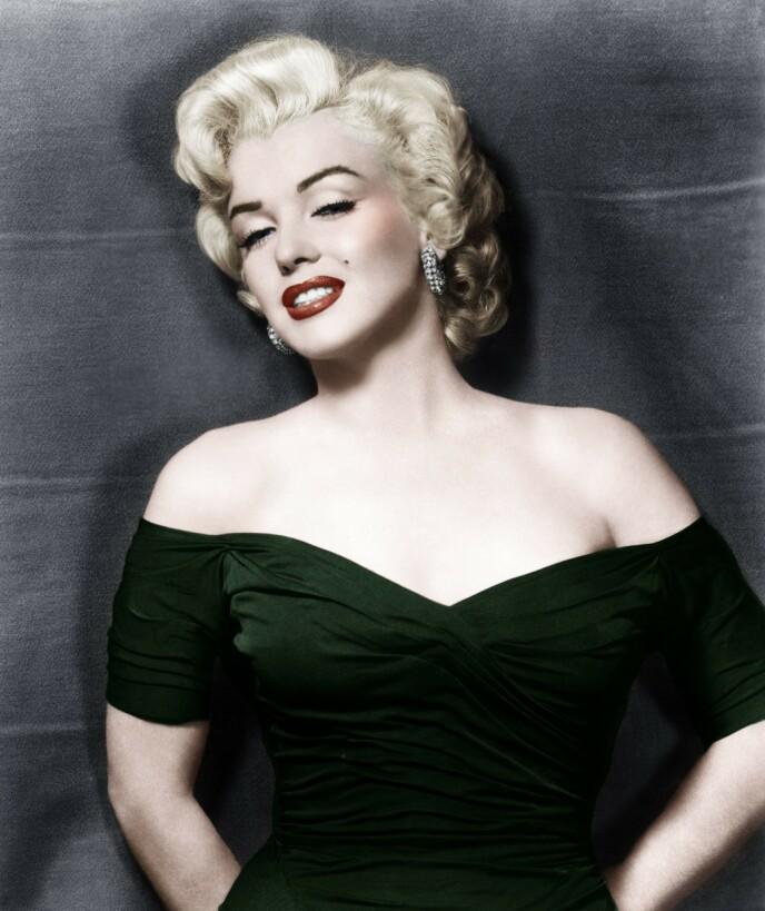IKONISK: Brynene til Marilyn Monroe ble siden kopiert blant annet av Madonna, i «Who's that girl», på 80-tallet. FOTO: NTB