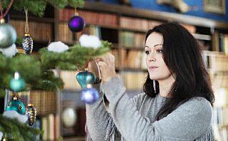 - Denne julen håper jeg alle vil tenne et ekstra lys og sende noen varme tanker