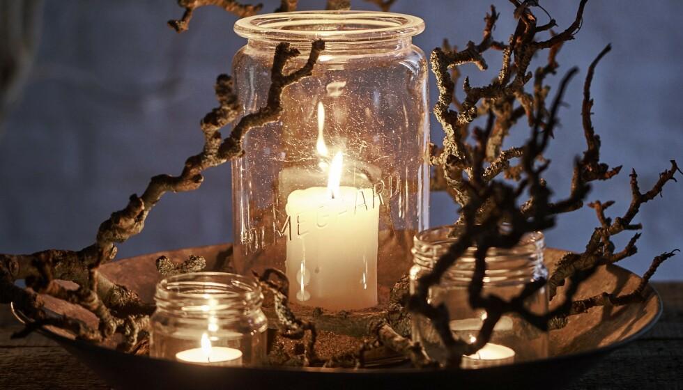 JULEVERKSTED: Lag dine egne lanterner! FOTO: Claudi Thyrrestrup