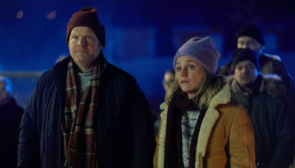 I FORELDREROLLEN: Anders Baasmo og Solveig Kloppen som faren og moren til Mortimer. Foto: Filmweb