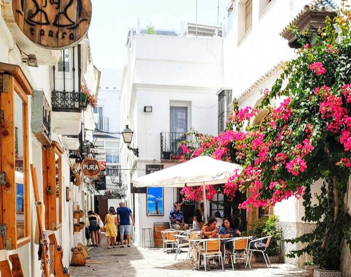 TARIFA: Utvalget er stort i Tarifa, både når det gjelder markeder, spisesteder og aktiviteter. Foto: cadizturismo.com