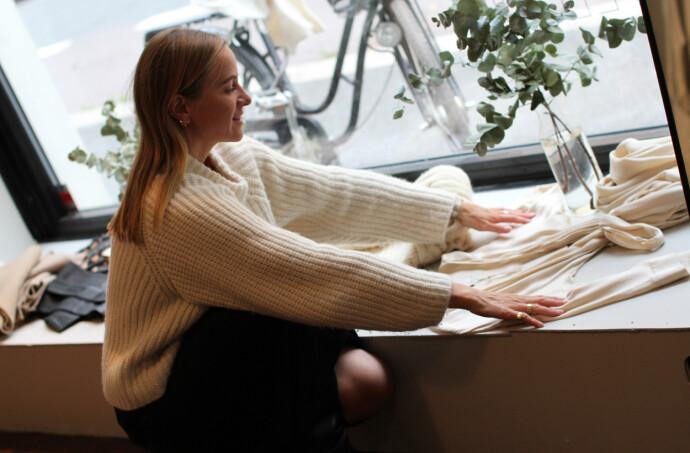 BÆREKRAFTSSATSNING: Celine Aagaard og Envelope1976 håper å inspirere resten av den norske motebransjen til å bli mer bærekraftig.