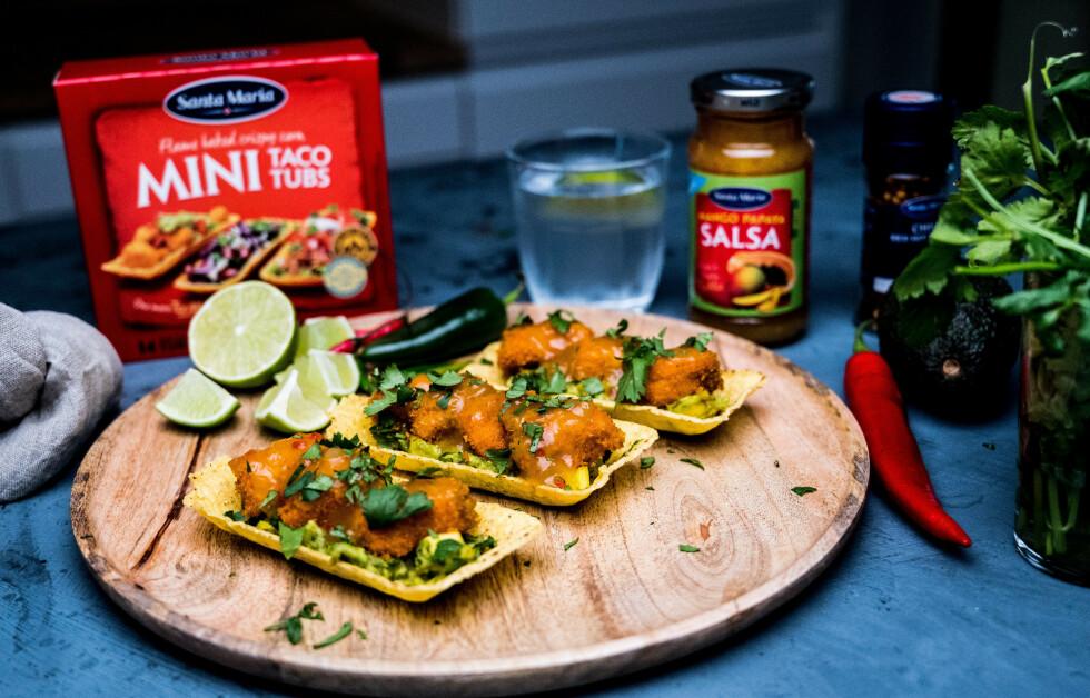 FISKETACO: Taco med fisk er fantastisk! I tillegg kan du med god samvittighet spise taco flere ganger i uka.