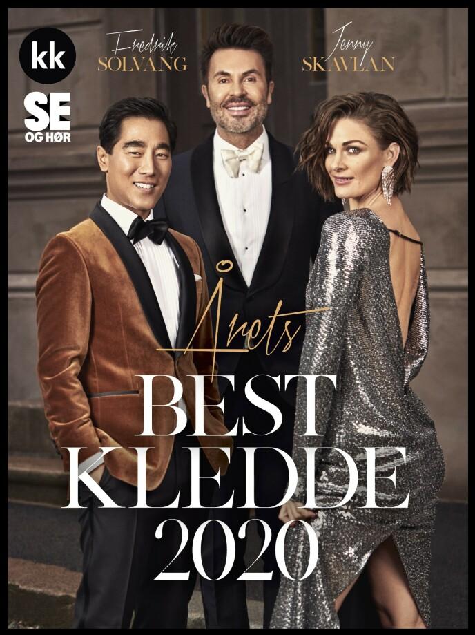 JAN THOMAS KÅRER: Ifølge moteeksperten er Fredrik Solvang og Jenny Skavlan årets best kledde kjendiser. Foto: Truls Qvale