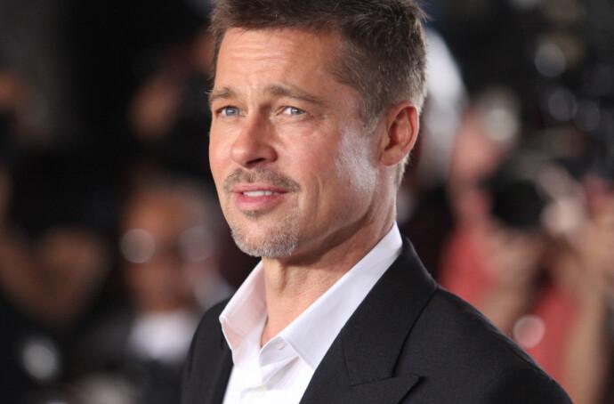 NÅ: Brad Pitt avbildet på filmpremiere i fjor. FOTO: NTB