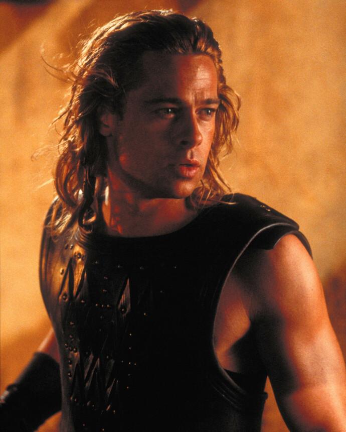 KJENT SKIKKELSE: Brad spilte selveste Akilles i denne krigsfilmen. FOTO: NTB