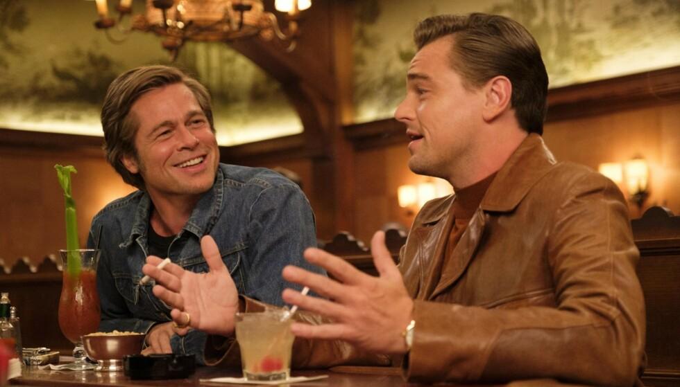 BRAKSUKSESS: Brad og Leonardo DiCaprio i en av fjorårets mest populære filmer. FOTO: NTB