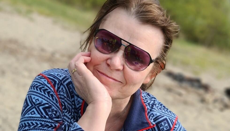 SLANKEOPERERT: Ann Stine har gått opp og ned i vekt hele sitt voksne liv. Etter slankeoperasjon gikk hun drastisk ned, men fikk merke de psykiske konsekvensene av dette. FOTO: Privat