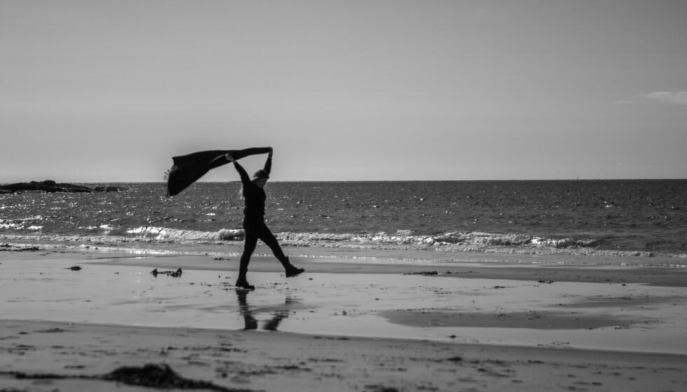 BORDERLINE: Det er vanskelig for Stine med nære relasjoner, og ofte ser hun verden i svart/hvitt. FOTO: Privat