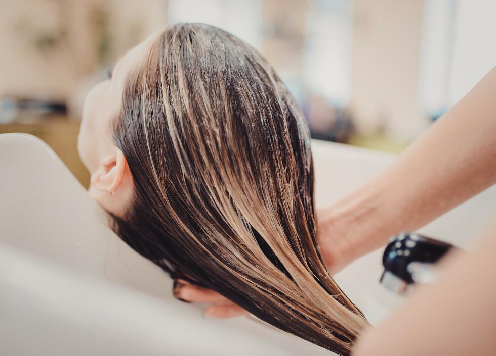 HÅRFARGING: Har du grått hår og er usikker hvilken farge du skal gå for når du er hos frisøren? Kanskje disse tipsene kan hjelpe deg! FOTO: NTB