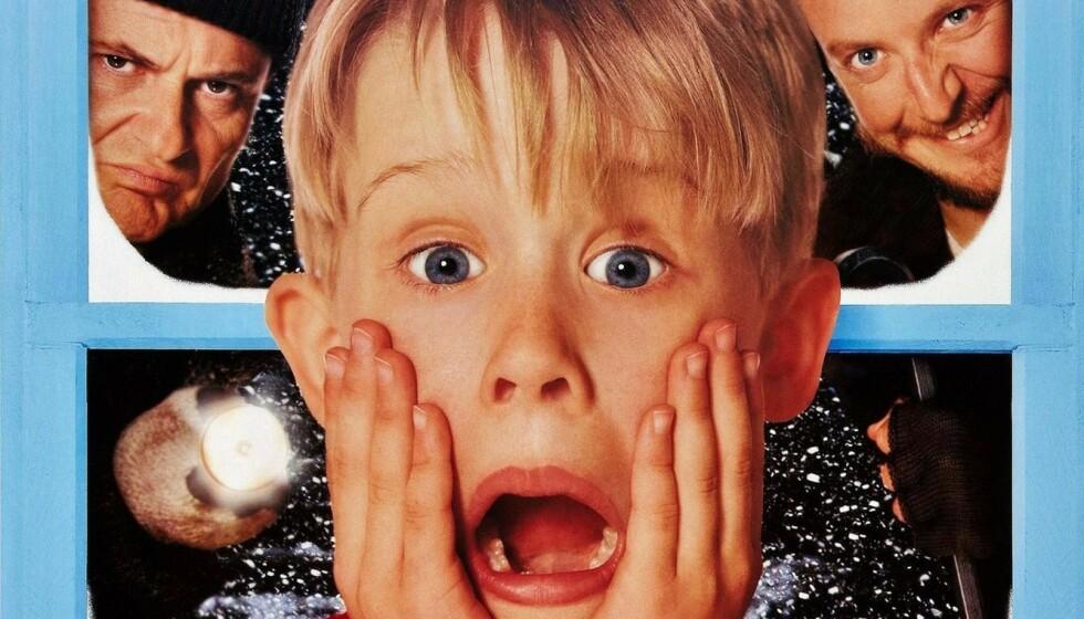ALENE HJEMME: Julefilm-klassikeren fyller 30 år! Foto: Alene hjemme