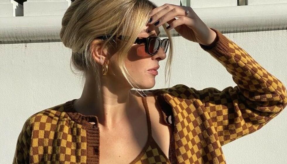 MASSE INSPIRASJON: Camille Charriere er blant dem som inspirerer oss. Foto. Skjermdump fra Instagram