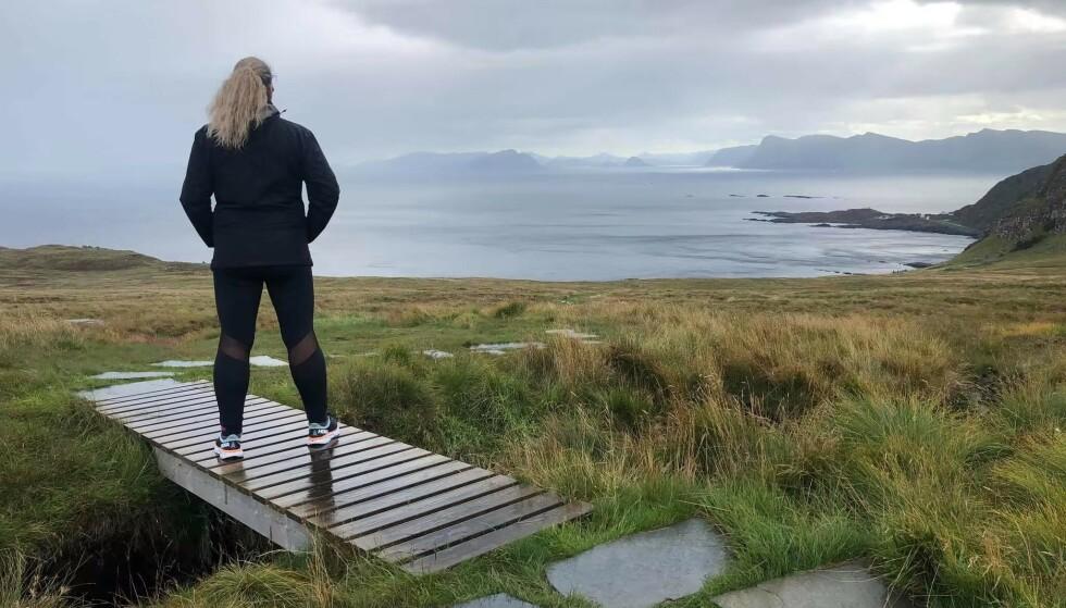 - Det er umulig å ikke bli lysere til sinns når du kommer deg ut i naturen, sier Heidi. FOTO: Privat.