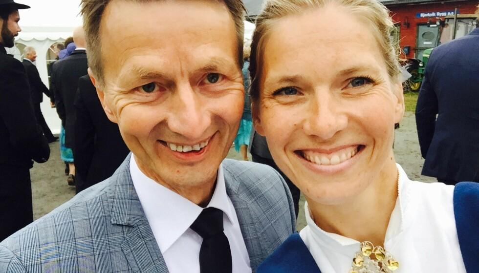 PARET: - Jeg er blitt forelsket i deg, sa Hans Kristian en dag til Karen Marie. Det ble starten på et lykkelig samliv, med to barn, helt til det brått stoppet. FOTO: Privat