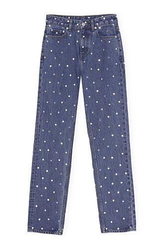 Jeans med nagledetaljer (kr 3000, Ganni).