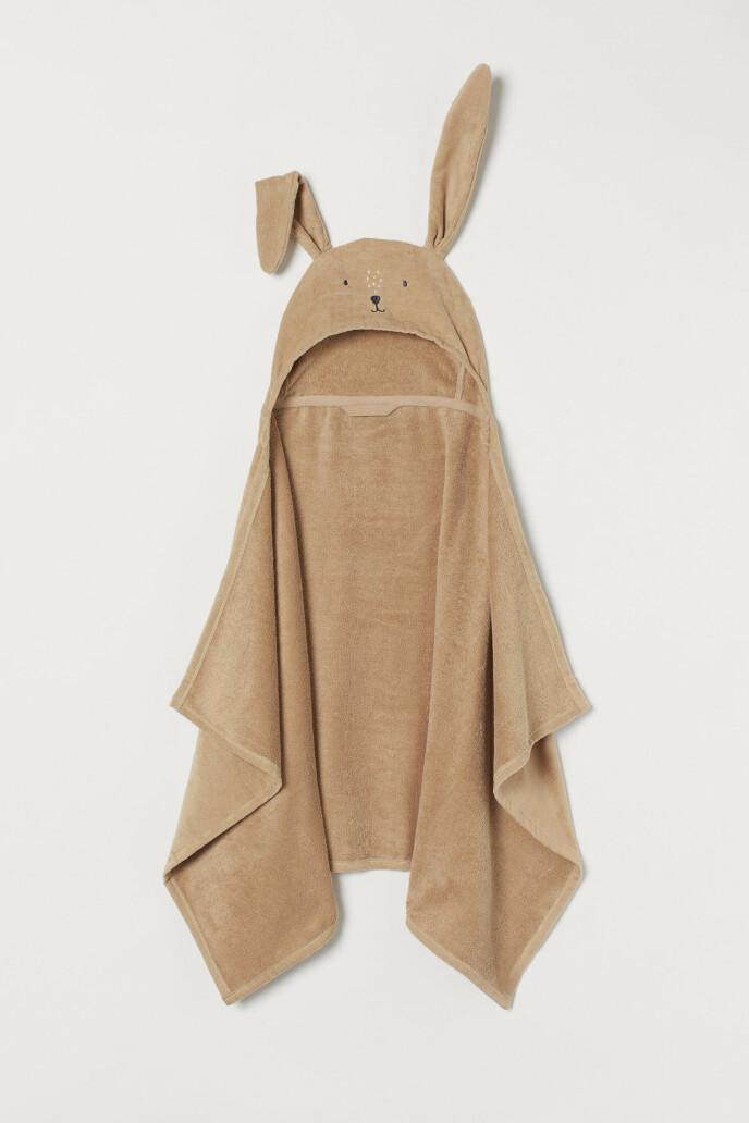 Håndkle med kaninører (kr 150, H&M Home).