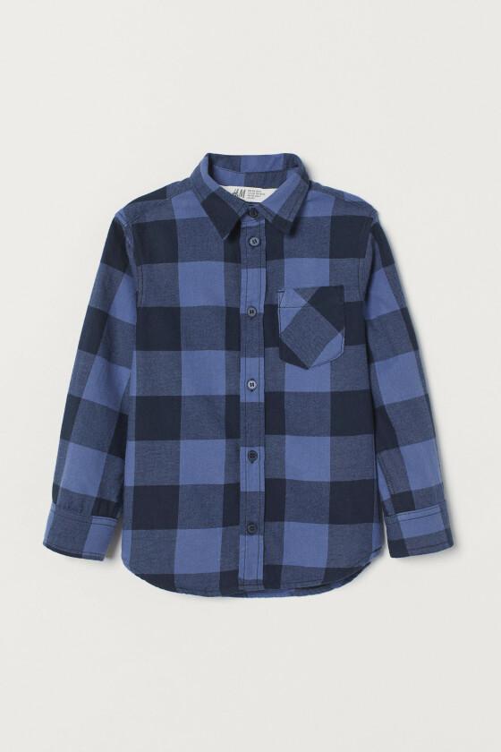 Rutete skjorte (kr 150, H&M).