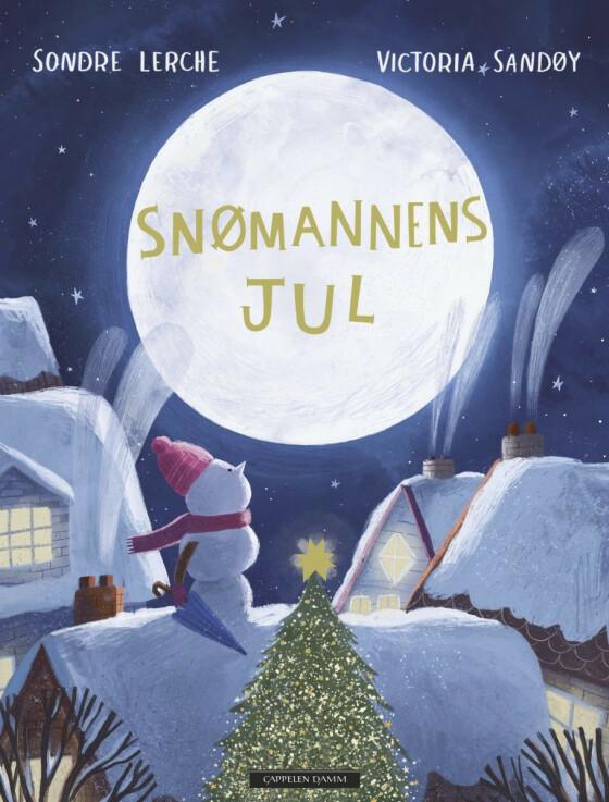 Boken «Snømannens jul» av Sondre Lerche (kr 280, Norli).