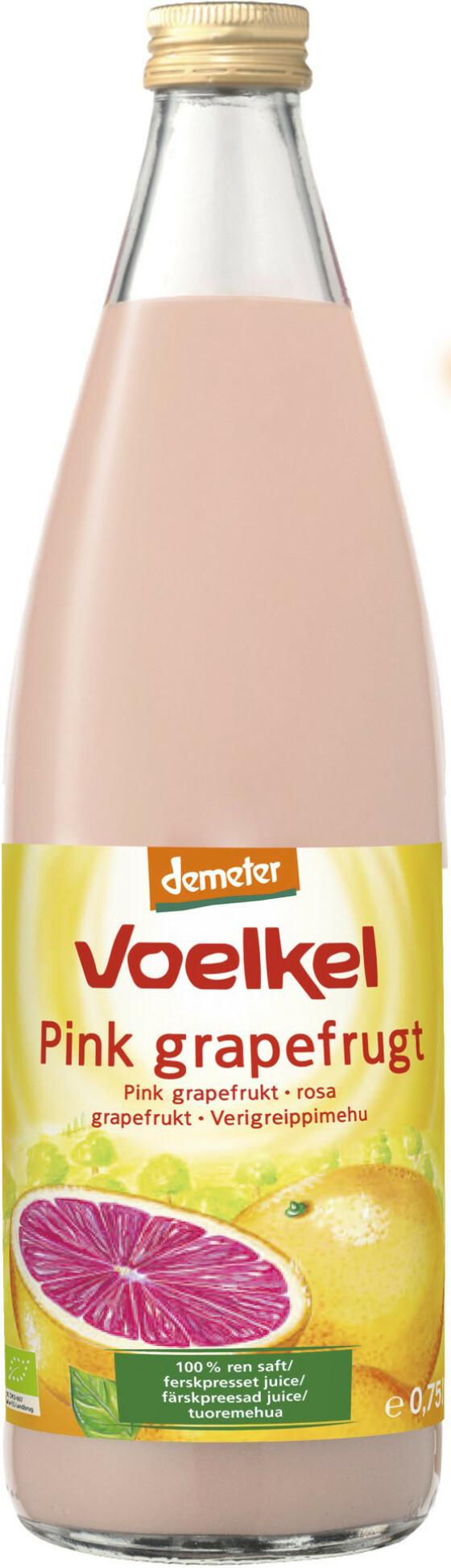 8 Grapefruktjuice (kr 70, Voelkel).