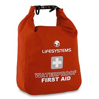 Førstehjelpsutstyr (kr 480, Lifesystems/fjellsport.no).