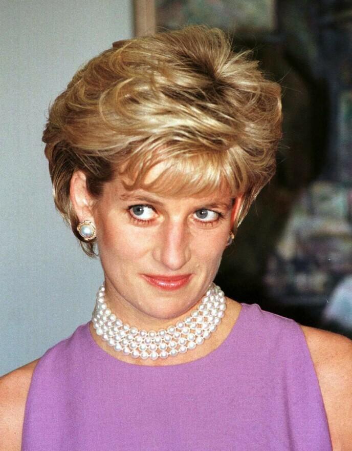 Festmote inspirert av prinsesse Diana