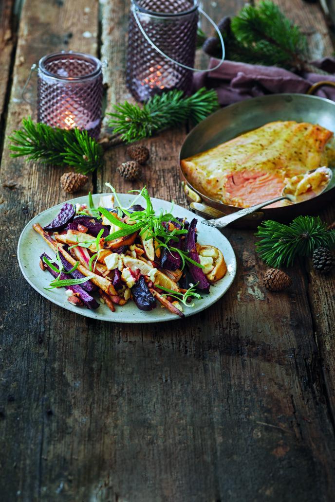 Vinterens råvarer behøver ikke å være kjedelige, men kan bli et sunt og lekkert måltid. FOTO: Winnie Methmann