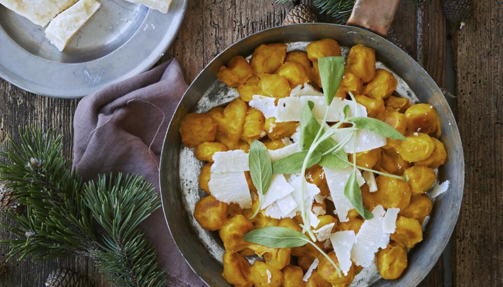 Gnocchi med gresskarsaus. FOTO: Winnie Methmann