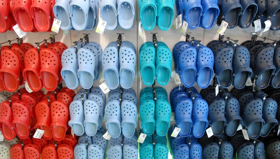 HOT I 2021: Ifølge en motejournalist skal Crocs-en gjøre litt av et comeback i 2021. Foto: NTB