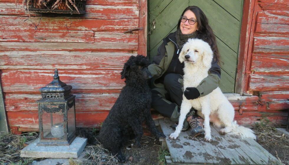 HJELPE ANDRE: Nå vil Hanne bruke gårde hun bor på som en base for å hjelpe andre. FOTO: Privat