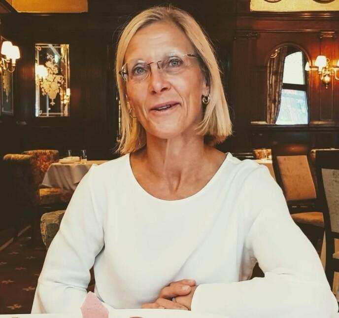 LEGE: I dag jobber Tone Elisabeth som lege, noe hun har gjort siden 2001. Etter skuespillerdebuten i julekalenderen har hun senere fokusert på dans, og etter hvert legeyrket. Foto: Privat
