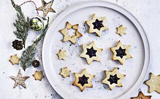 Søte, små stjernekaker