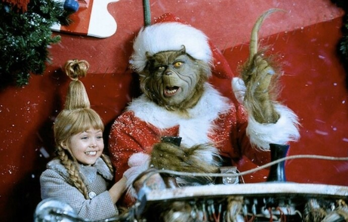 DEN GANG DA: Stjernen som spilte lille Cindy Lou Who, Taylor Monsen, i «Grinchen» har blitt 27 år gammel. FOTO: Skjermdump
